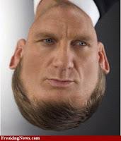 Daniel Craig+face+upside down