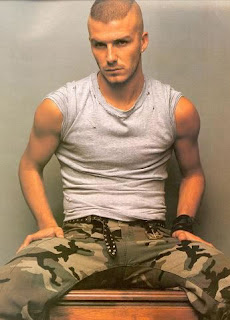 David Beckham S Short Mohawk Faux Hawk Messy Hairstyle
