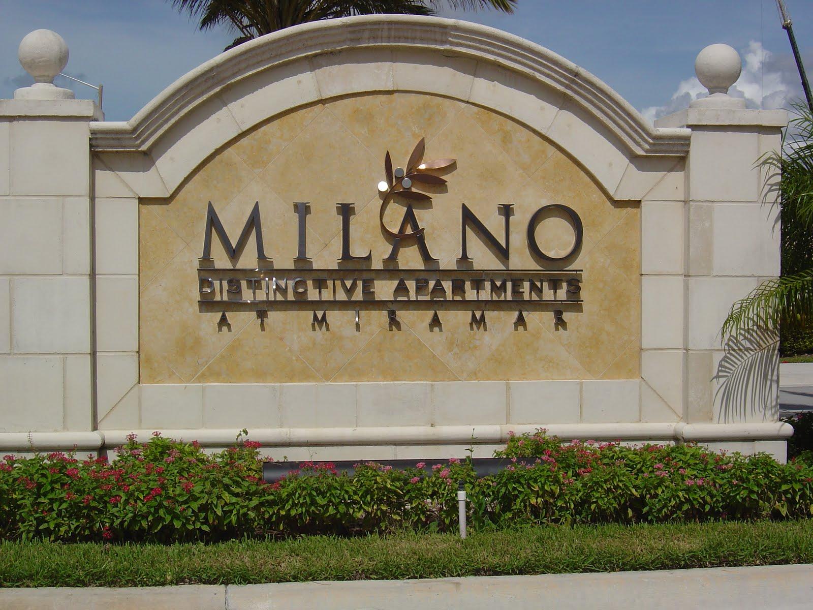 Milano Distinctive Apartments And Treo Miramar Florida
