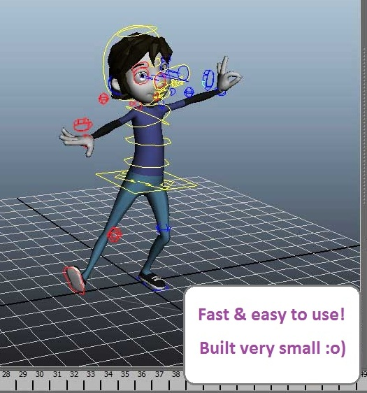 Tara Donovan's Teaching Blog: License-Free Maya Rig Testing **Update