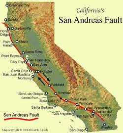 Se avecinaría el Gran Terremoto en California