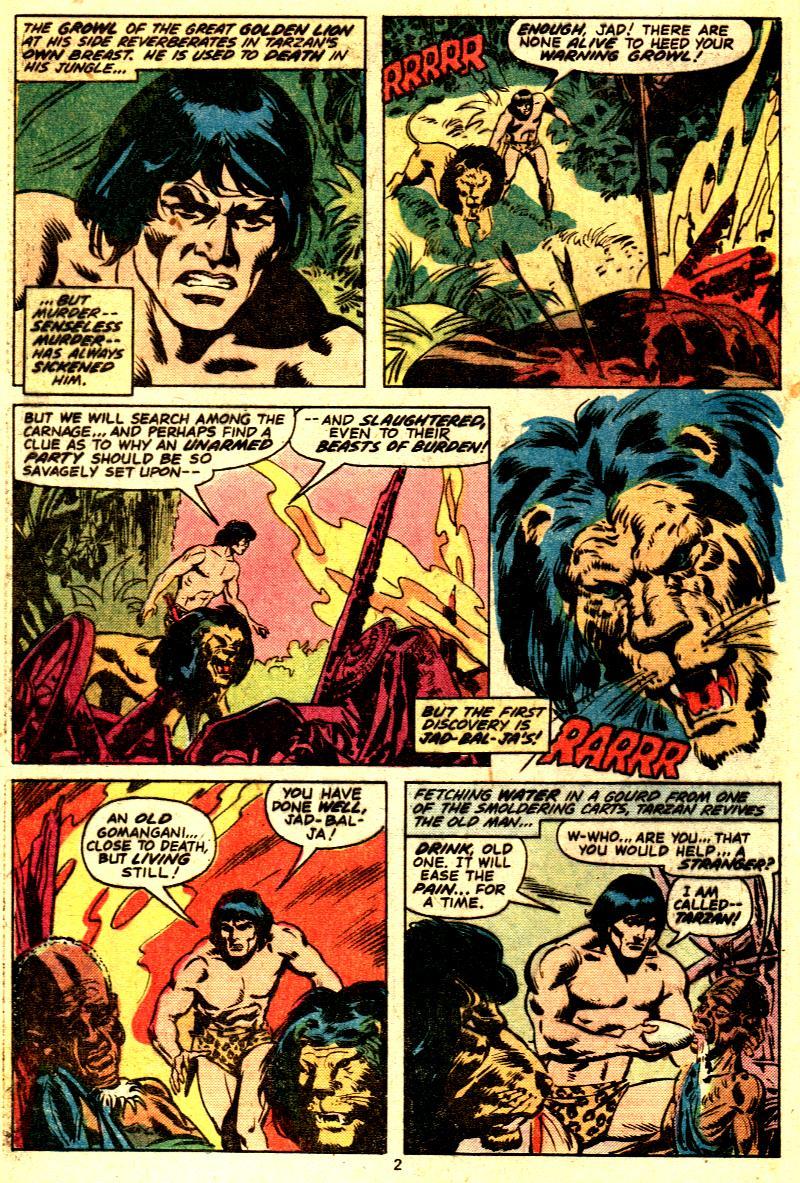 Read online Tarzan (1977) comic -  Issue # _Annual 2 - 3