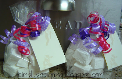 Marshmallows+in+2+bags Homemade Marshmallows 12