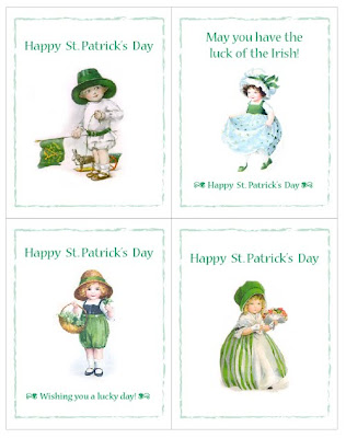 She Has Created Cute St Patricks Day FREE PRINTABLE Cards And They Are Available Here For You To Download Print Mail Wish All Your