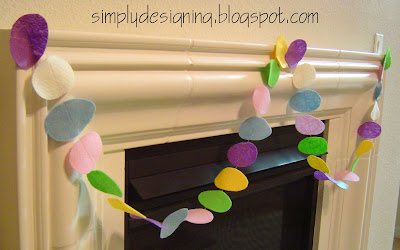 easter+egg+garland The Changing of the Guard...the Easter fun is beginning! 7