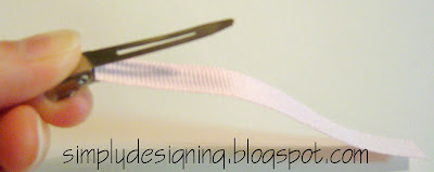 line+clip+02 Hair Flower Week - How to Line an Alligator Clip and a WINNER! 15