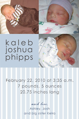 Kaleb+Birth+Announcement Feature - Hello @ Good Gravy 3