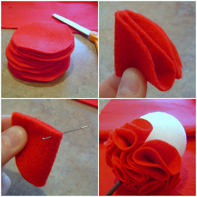 Vday+Felt+Topiary+Collage+a Simple Valentine's Day Décor: Felt Topiary 13