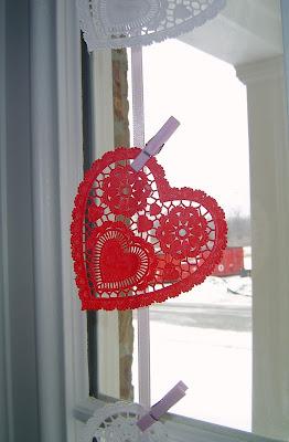 Doilie+Garland.+Closeupjpg Valentine's Day Doily Garland 3