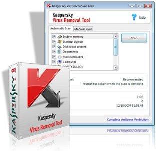 Download Kaspersky Virus Removal Tool 2010