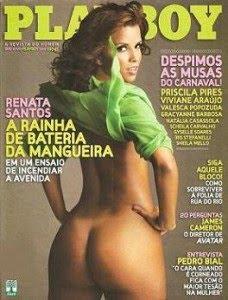 Revista Playboy Renata Santos Fevereiro 2010