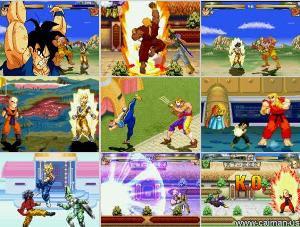 Download Jogo DragonBall vs Street Fighter PC