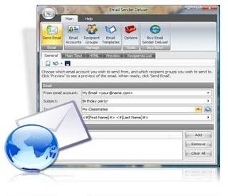 Download Email Sender Deluxe v2.08