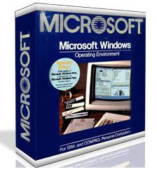 Baixar - Microsoft Windows 1.0 [1985] - (Relíquia)