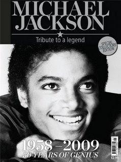 Revista Michael Jackson - Tributo a uma Lenda