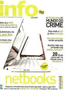 Revista INFO Exame Netbooks - Julho 2009