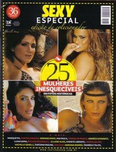 Revista Sexy Especial 25 Mulheres - 2009