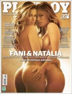 Revista Playboy Fani e Natália Novembro 2010