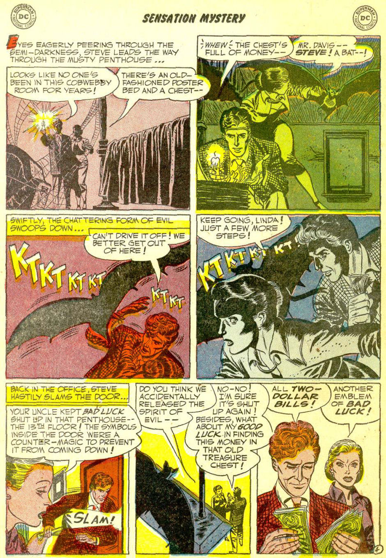 Read online Sensation (Mystery) Comics comic -  Issue #111 - 18