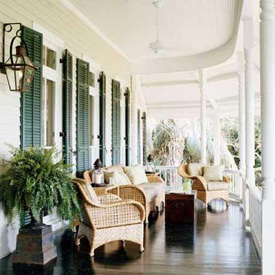 glamorous front porch furniture | Your Southern Peach: Front Porch Sittin'