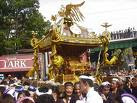 CLICK for more photos of mikoshi !