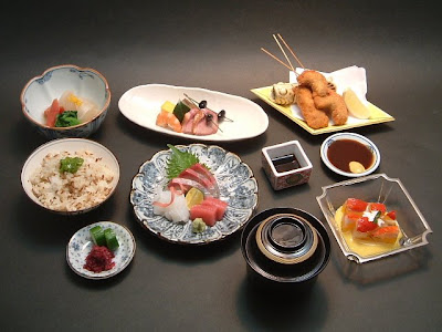CLICK for more KAISEKI food