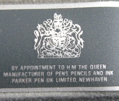 Parker Pen Royal Warrant