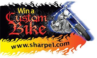 Sharpe Press Room: Razor Gun Custom Bike Sweepstakes