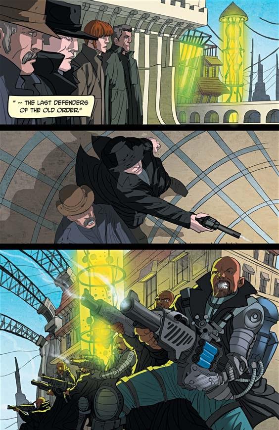 Read online Tin Man comic -  Issue # Full - 6