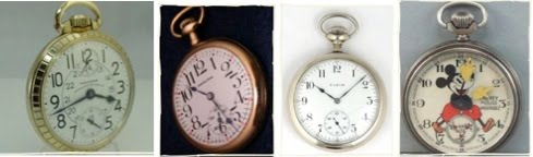 AMERICAN CLASSIC POCKET WATCHES