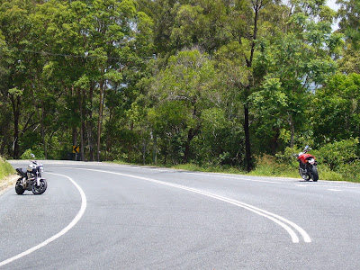 Good motorcycle roads- Tweed Valley, Nunderi.