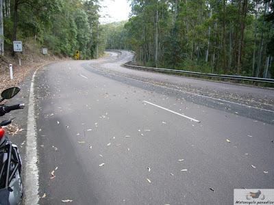 Australia's best motorcycle roads. Bulahdelah.