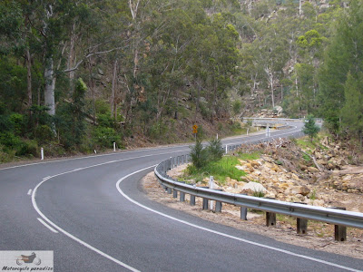 Australia's best motorcycle roads. Putty Road.