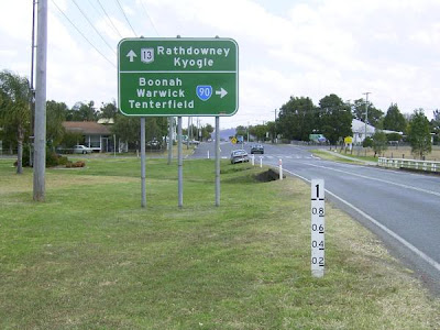 Good motorcycle roads - Boonah