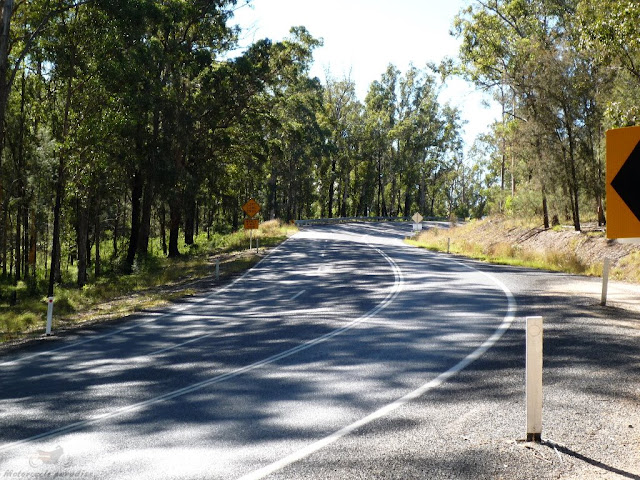 Australia's best motorcycle roads. Bruxner h-way