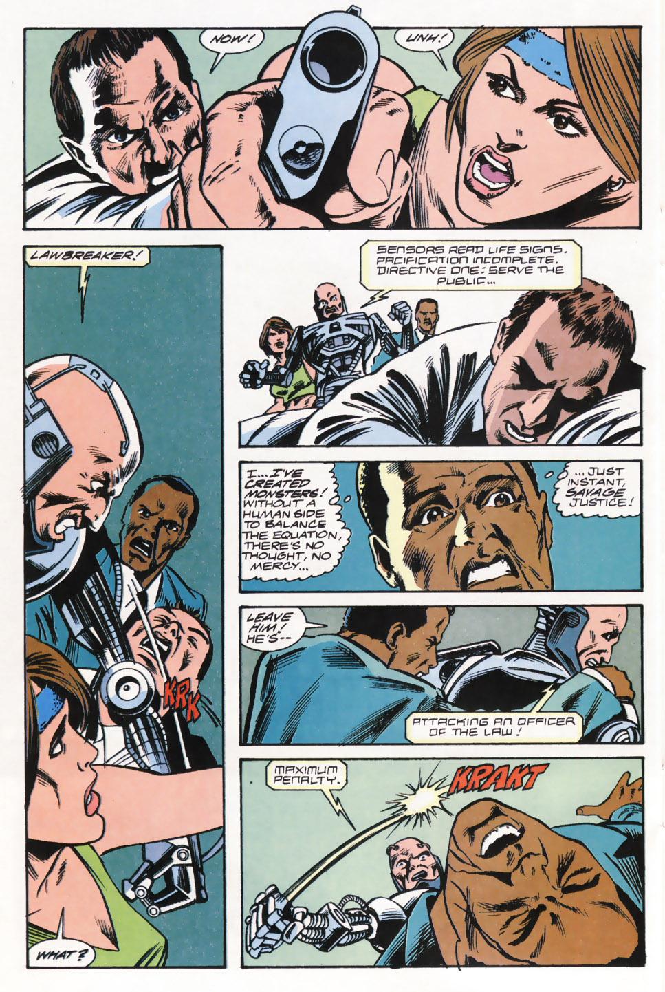 Read online Robocop (1990) comic -  Issue #15 - 17