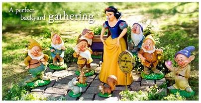 The Statues Are Pièce De Résistance Of Disney 2008 Snow White S Garden Collection Made Resin Series Includes Seven Dwarfs