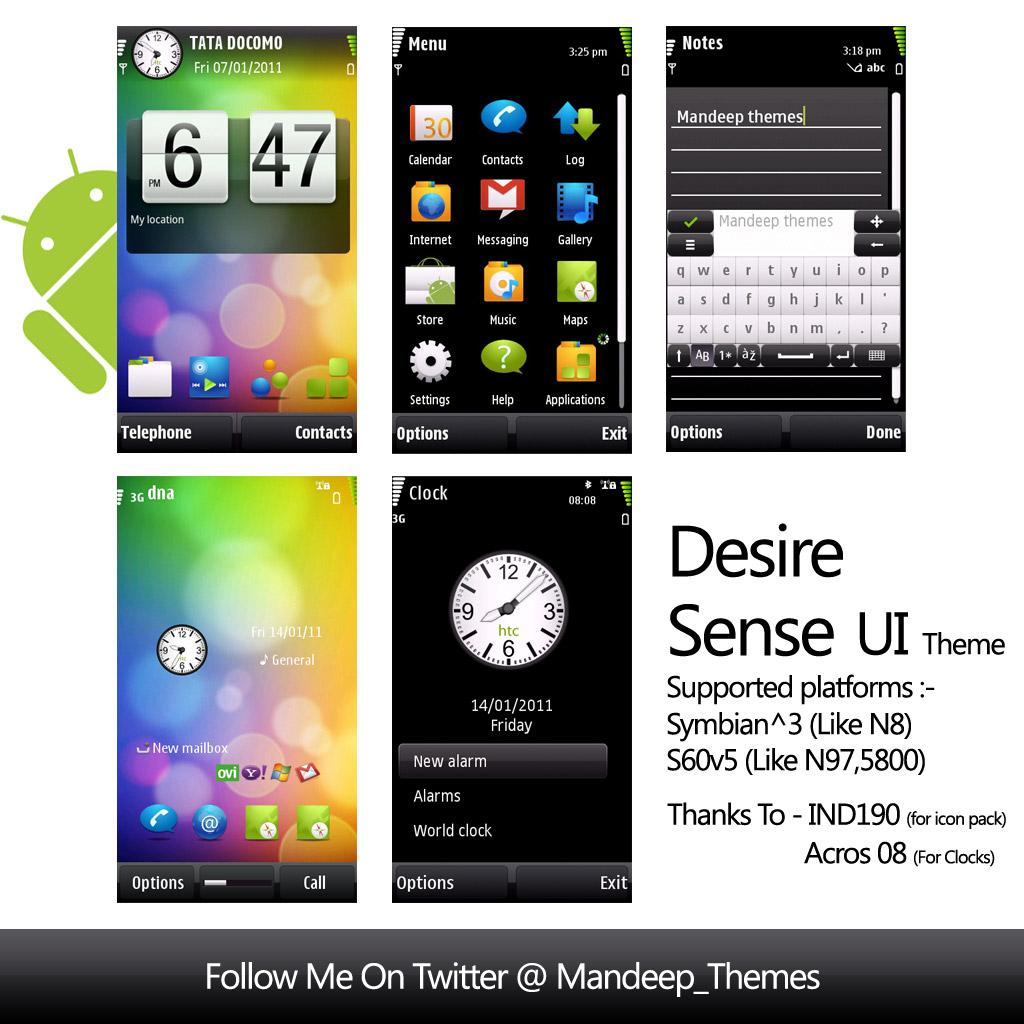 Next Launcher HTC Sense4 Theme v1.5