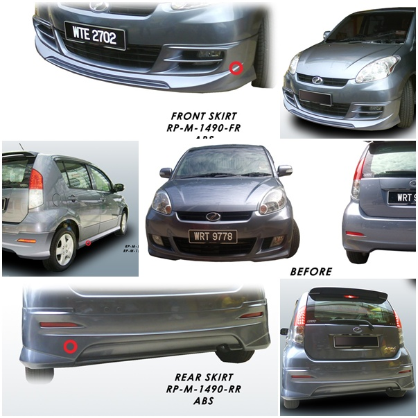 Star Level Auto Accessories: Perodua Myvi SE Sport Design