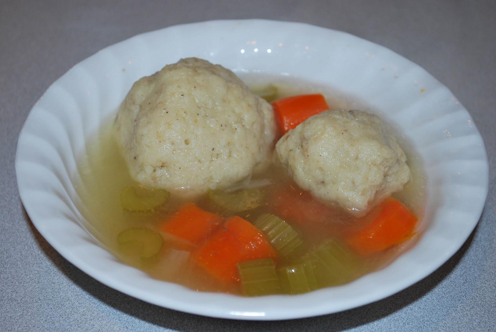 Lili's Chicken Soup with Matzoh Balls Penicillin
