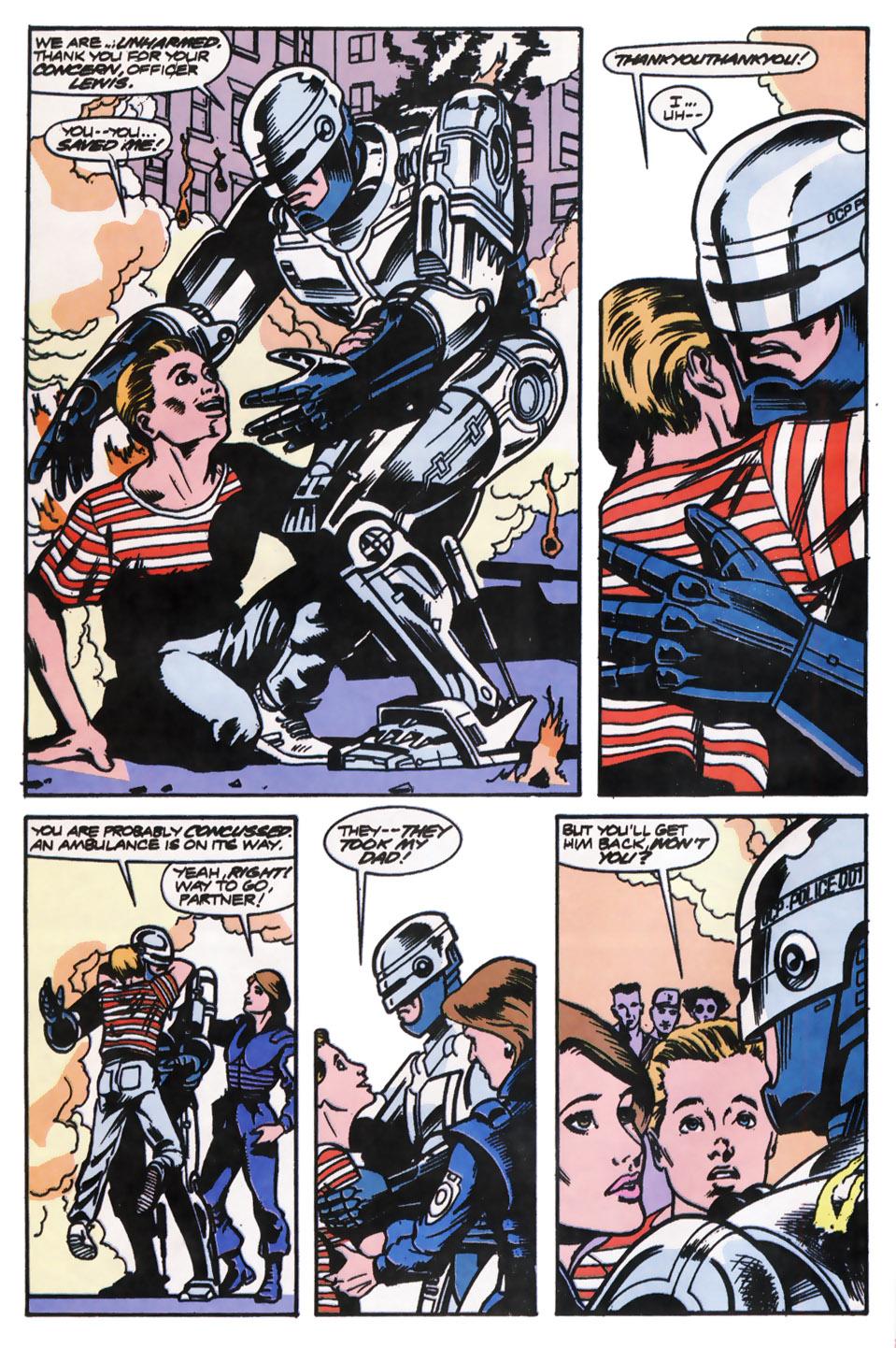 Read online Robocop (1990) comic -  Issue #12 - 5