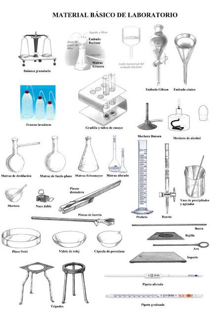 BIOLOGIA Y MICROBIOLOGIA: MATERIALES BASICOS USADOS EN EL