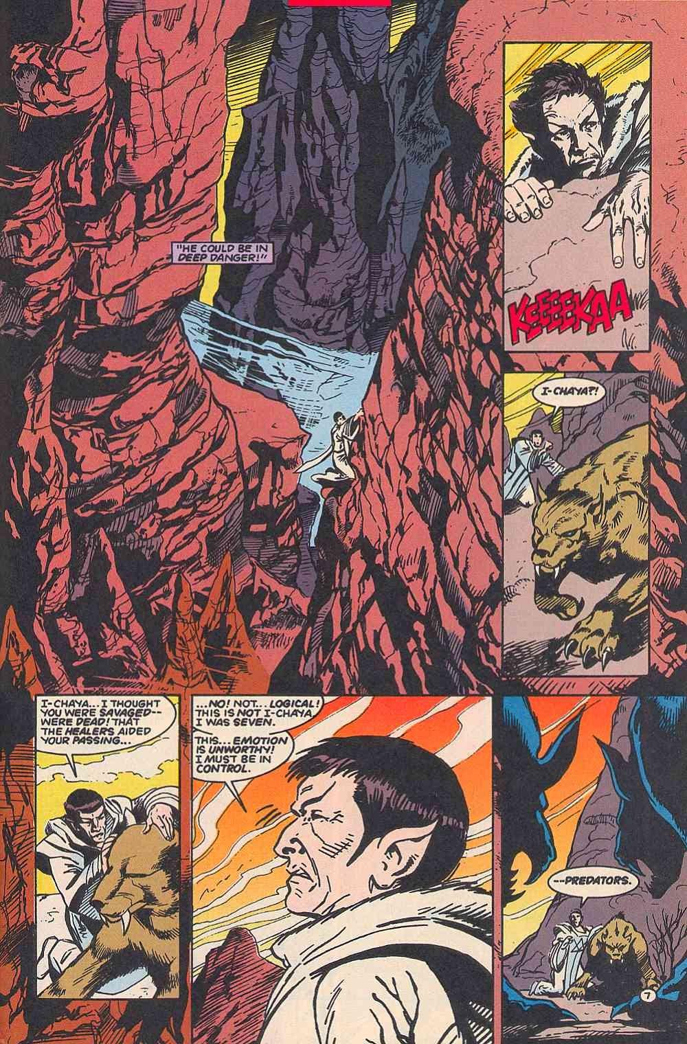 Read online Star Trek (1989) comic -  Issue # _Special 1 - 53