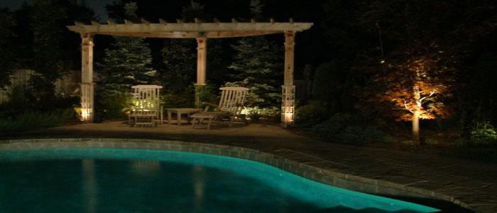 iluminacin de jardines y exteriores
