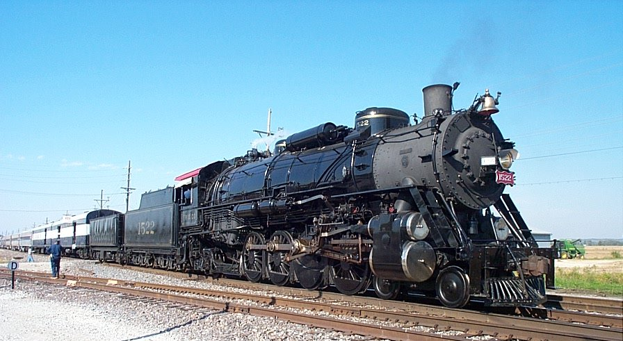 Transportation Picture: Steam Locomotive