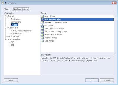 BPEL – Oracle SOA, BPEL, OSB, Webcenter, JDeveloper
