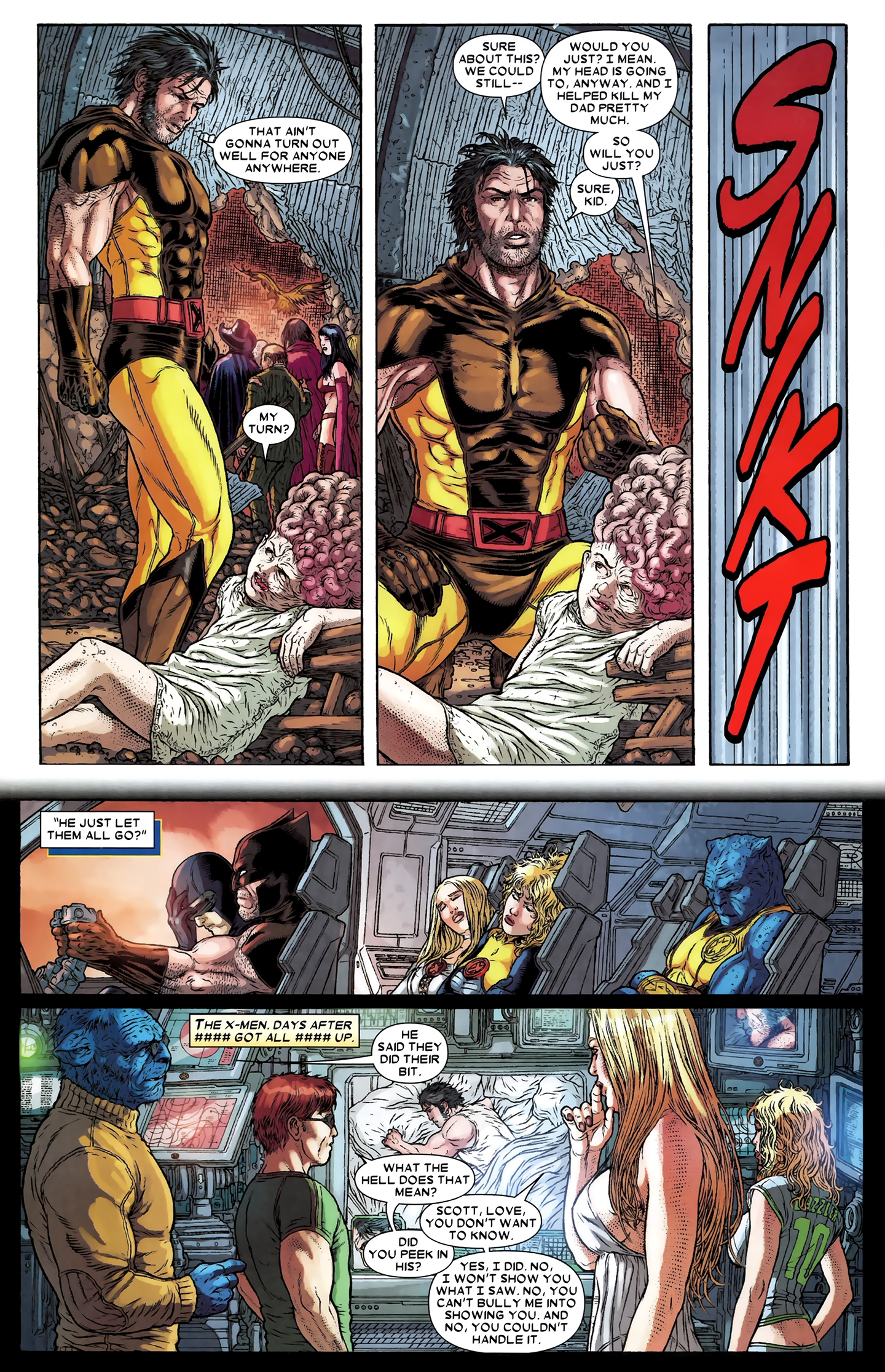 Read online Wolverine: The Best There Is comic -  Issue #12 - 21