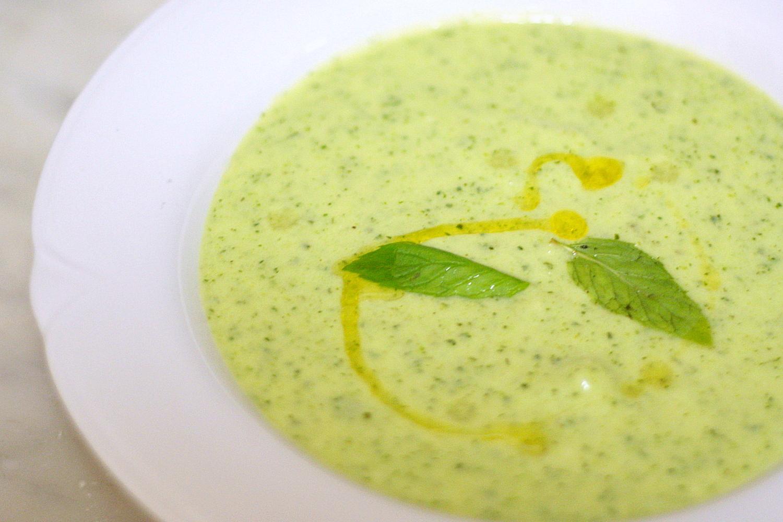 La Cucina Orgasmica: Zucchini, Yogurt, and Mint Soup (Zuppa Fredda di ...