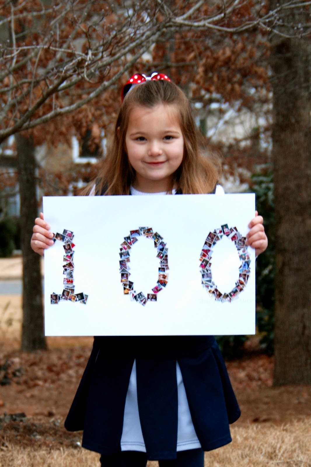 Simple Girl 100th Day Of School Project