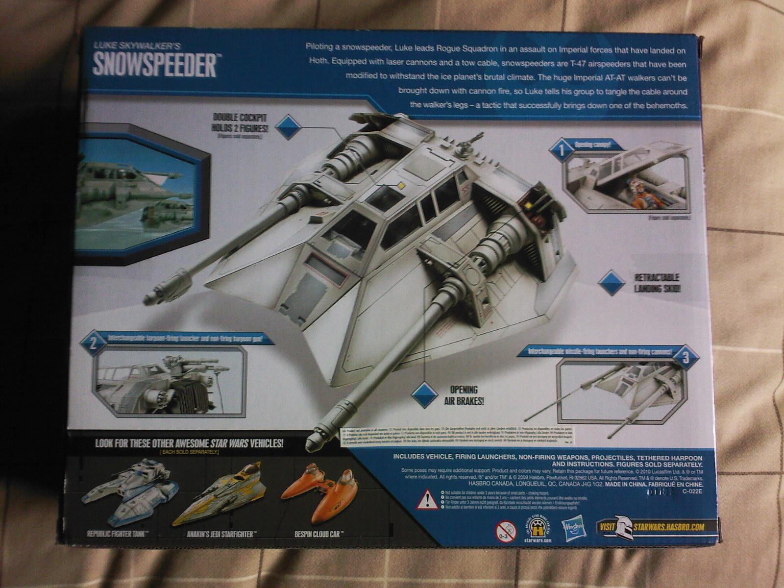 Random Stuff What I Like Hasbro S Star Wars Snowspeeder